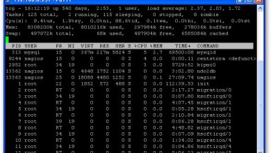 Utilisation de la commande TOP et notion de load average sous Linux. 16