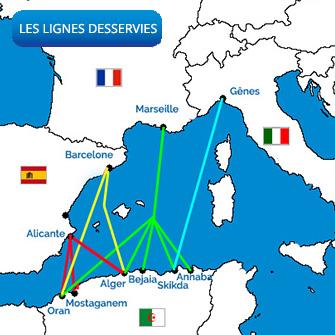 Algérie Ferries : Prix des billets de bateau vers l'Algérie|été 2019 1