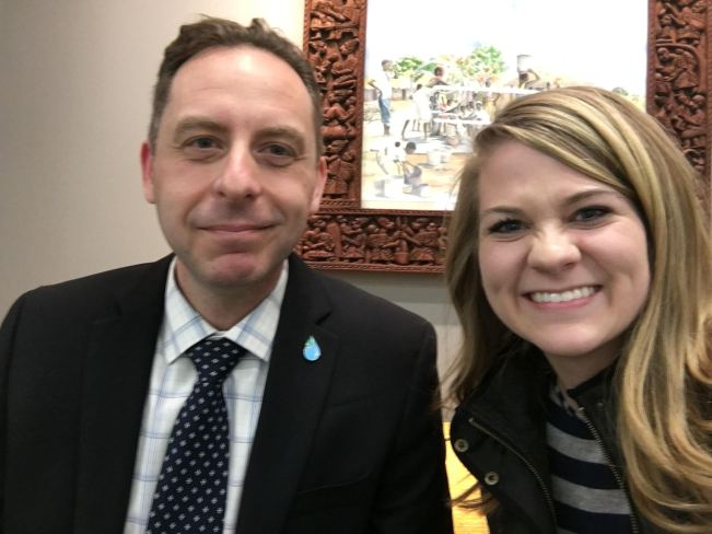Dr. Nick Brozovic and Andrea Wach