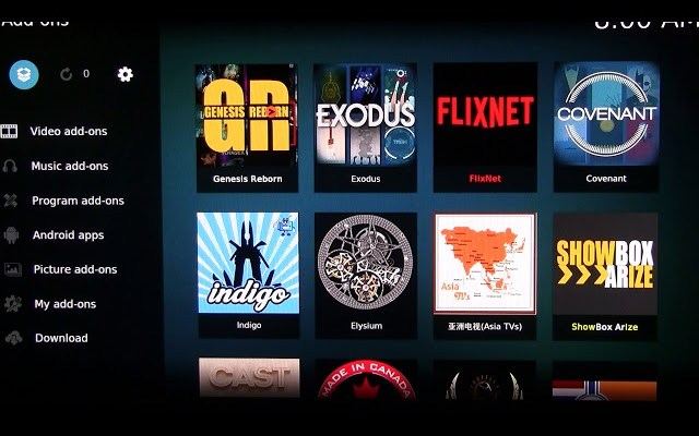 update kodi with exodus