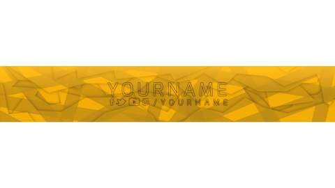 orange youtube banner