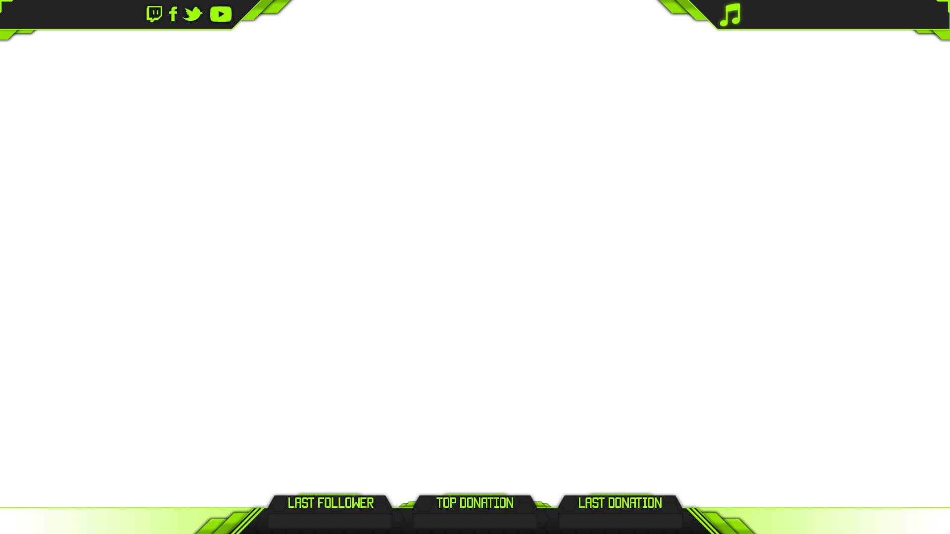 Prime cs go overlay for Twitch layout template