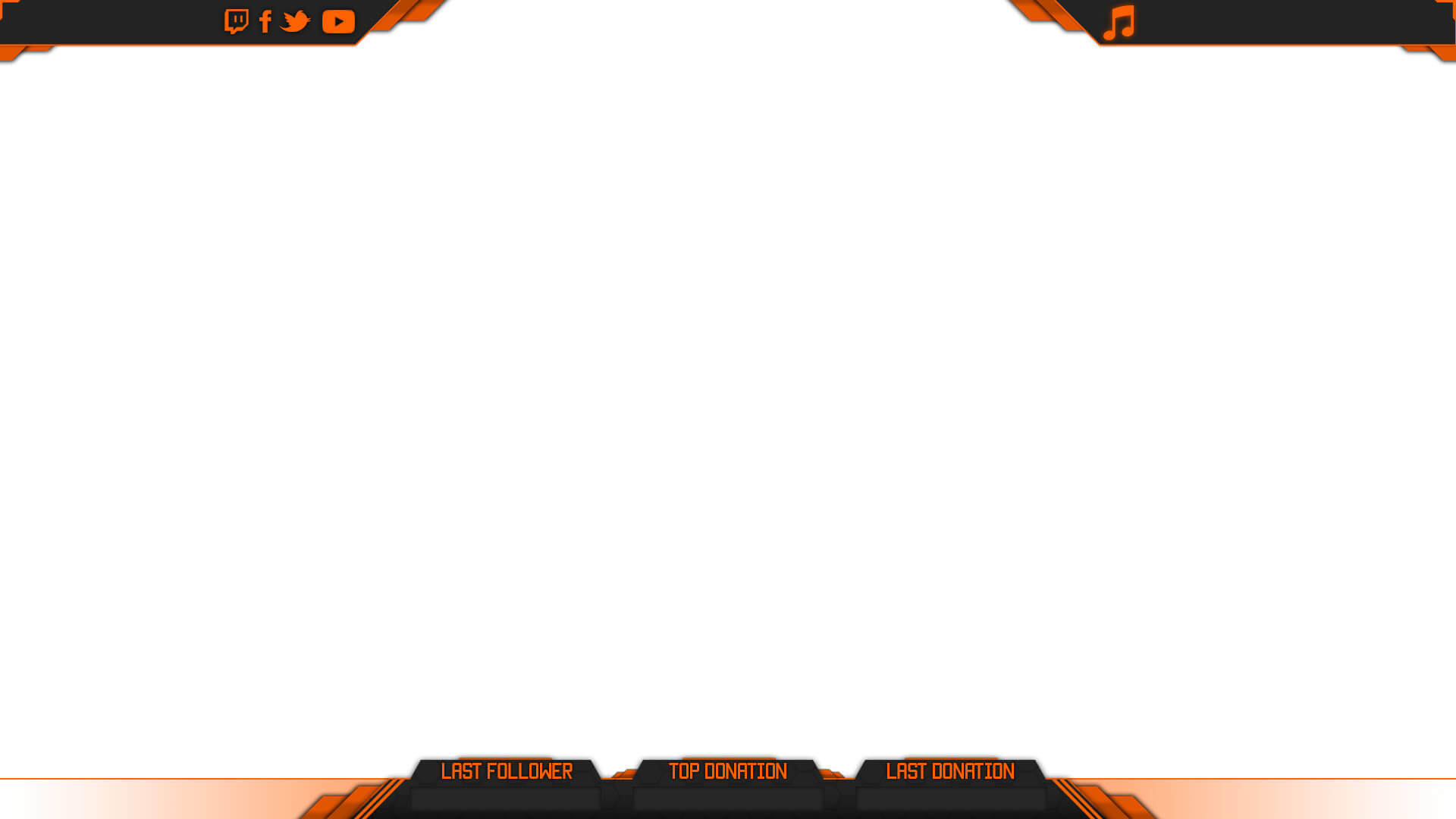 stream overlay orange