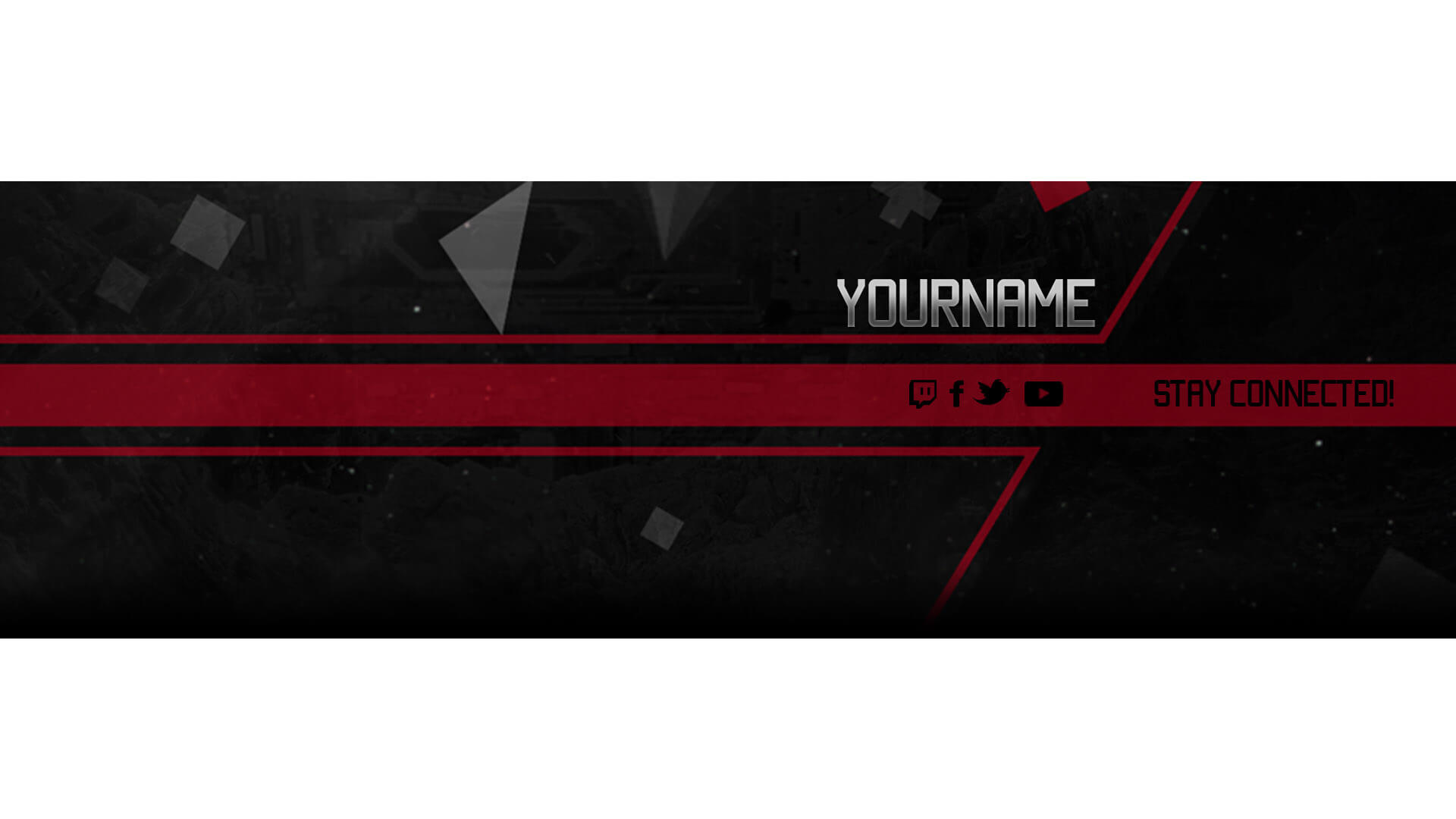 red twitch banner free