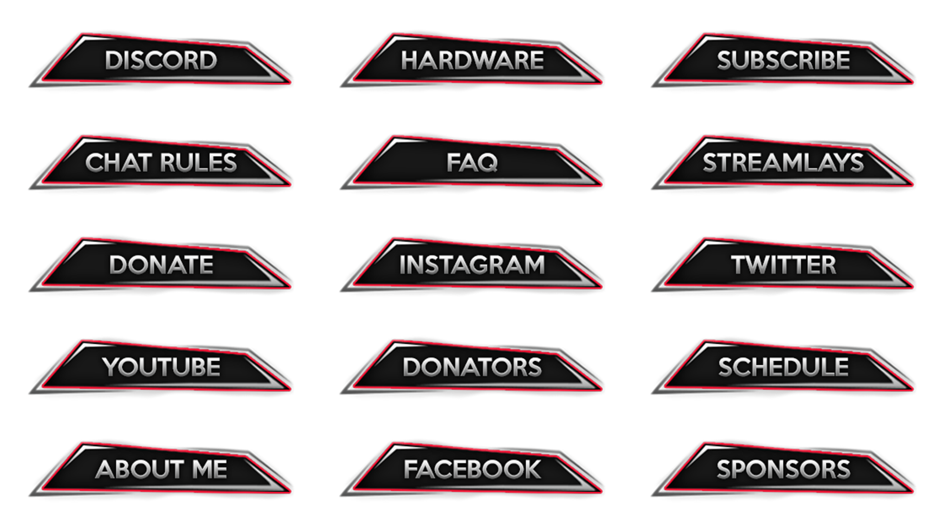 Twitch Buttons