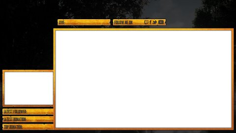 PUBG Twitch Overlay download free
