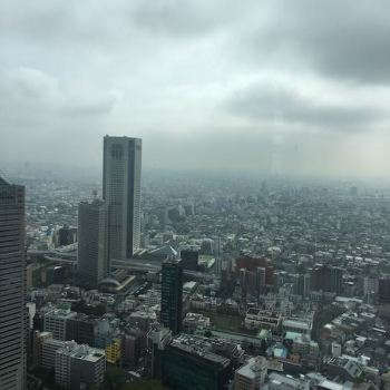 東京都庁 展望台眺望
