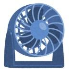 サーキュレーターによる強制換気で29℃台はまだ耐えられる