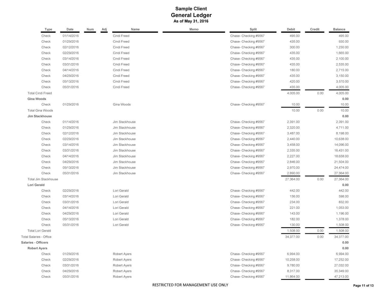 General Ledger Sample Client 05 16 Page 11