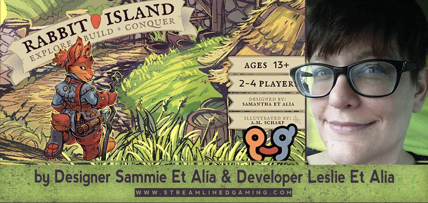 Int. 21 – Leslie Et Alia of Infinite Heart Games: Rabbit Island