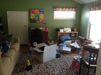 The Before Picture of a Guest Room