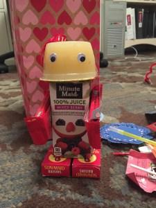 Valentine Robot