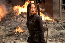 Jennifer Lawrence in 'The Hunger Games Mockingjay Part 1,' coming to Hulu