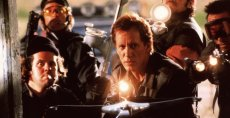 James Woods and his wild bunch of vampire hunters in 'John Carpenter's Vampires'