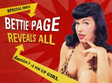 The documentary 'Bettie Page Reveals All' delves into the life of the legendary pinup and cult icon.
