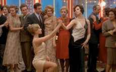 Dominique Sanda and Stefania Sandrelli in Bernardo Bertolucci's 'The Conformist' starring Jean-Louis Trintignant