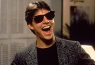 Tom Cruise in Paul Brickman's 'Risky Business'