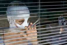Susanne Wuest in the German horror drama 'Goodnight Mommy,' directed by Severin Fiala and Veronika Franz