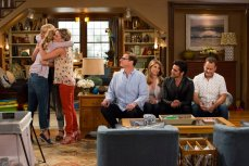 Candace Cameron Bure, Jodie Sweetin, Andrea Barber, Lori Loughlin, John Stamos, Bob Saget, and Dave Coulier in the Netflix original series 'Fuller House'