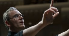 Michael Fassbender stars as 'Steve Jobs' in the feature written by Aaron Sorkin and directed by Danny Boyle