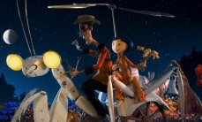The stop-motion animation dark fairy tale 'Coraline' directed by Henry Selick