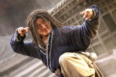 Jackie Chan in 'The Forbidden Kingdom,' which co-stars Jet Li.