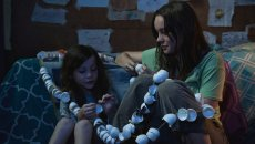 Jacob Tremblay and Best Actress Oscar winner Brie Larson in 'Room,' directed by Lenny Abrahamson