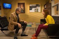 Jeff Goldblum and Ellie Kemper in the Netflix original series 'Unbreakable Kimmy Schmidt: Season 2.'