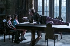Louis Hynes, Malina Weissman, and Neil Patrick Harris in 'A Series of Unfortunate Events'