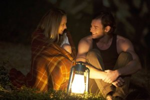 "Teresa Palmer and Benjamin Walker star in ""The Choice."""
