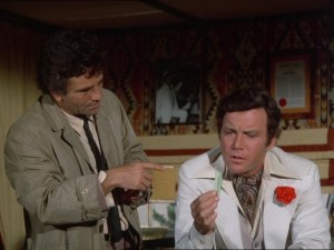 Peter Falk is Lt. Columbo in the iconic detective series