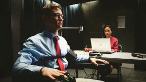 "Joseph Gordon-Levitt stars in Oliver Stone's ""Snowden."""
