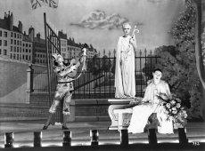 Arletty, Marcel Herrand, Pierre Brasseur, and Jean-Louis Barrault star in Marcel Carné's classic of French cinema