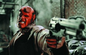 """Ron Perlman is """"Hellboy"""" in Guillermo del Toro's adaptation of the Mike Mignola graphic novel"""
