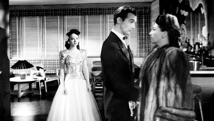 Joan Crawford stars with Ann Blyth, Zachary Scott, and Jack Carson