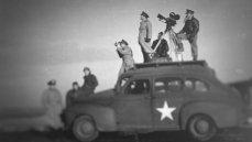 John Ford shoots a military documentary