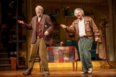 """Nick Kroll and John Mulaney in """"Oh, Hello On Broadway."""""""