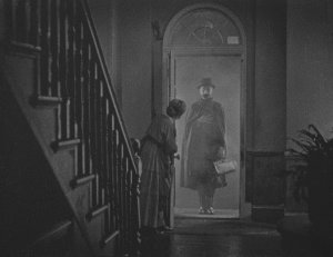 Ivor Novello in Alfred Hitchcock's 1926 silent movie thriller.