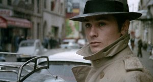 Alain Demon in Jean-Pierre Melville's French crime classic