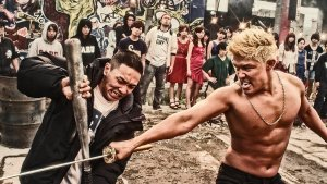 Young Dais and Ryohei Suzuki in the hip-hop musical gang war thriller from Japan