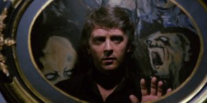 David Hemmings in the giallo horror classic by Dario Argento