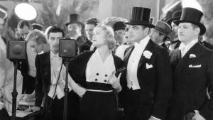 Constance Bennett and Lowell Sherman in the original pre-code 'Star is Born' from George Cukor