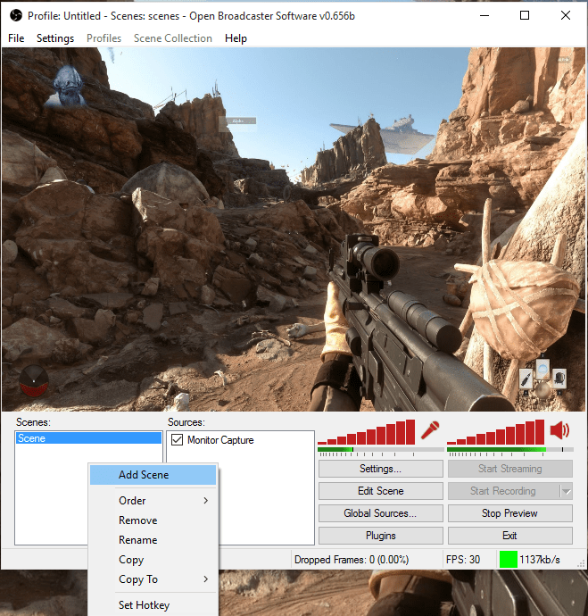 overlay-using-obs-add-scene