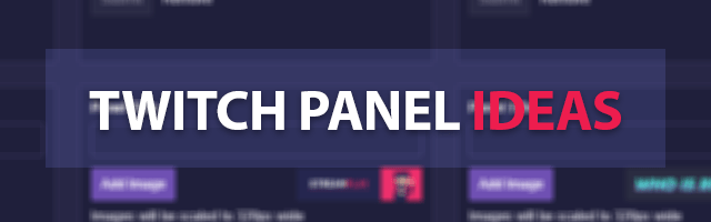twitch panel ideas featured image
