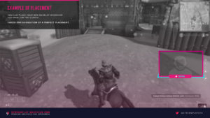 example placement of neon pulse webcam overlay