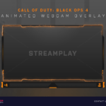 Call of Duty Black Ops 4 Webcam Overlay