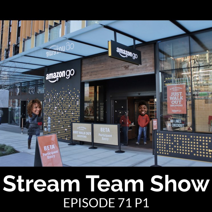 Stream Team Show 071 Part 1 Cover
