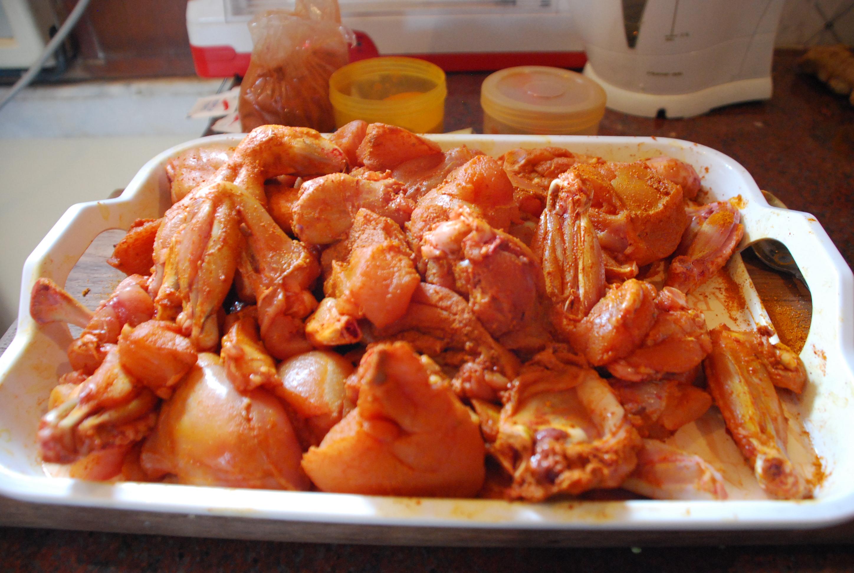 Chicken with Spice Rub