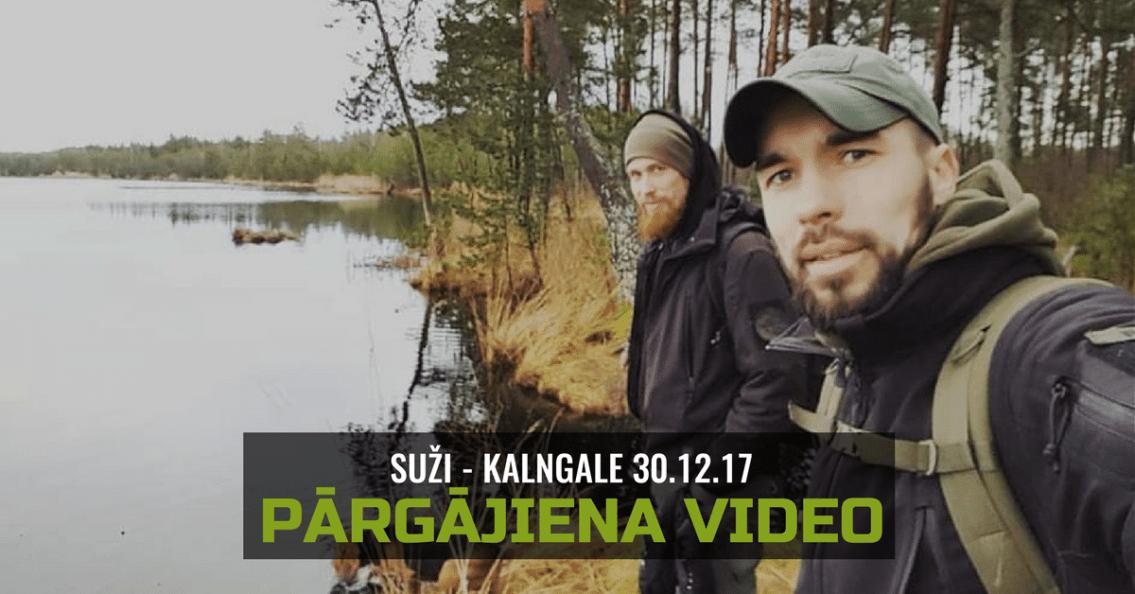 Pārgājiena Video - Suži Kalngale   STREELNIEKS.LV
