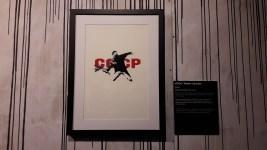 CCCP/ Flower Chucker, Banksy (2002)